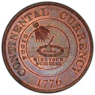 HK-853 Dickeson Continental Currency Dollar was examined for a DM Rare Coins research article. Click to find more!
