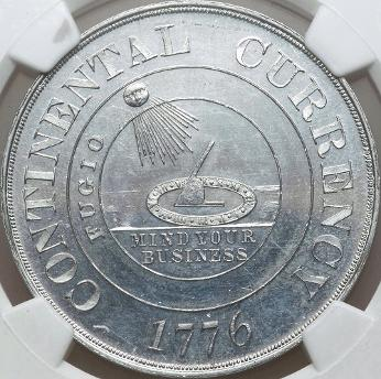 Dickeson Continental Currency Dollar obverse