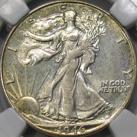 DM Rare Coins shows Prooflike Walking Liberty Half Dollar, also a discovery piece of CONECA Doubled Die Obverse DDO-001. Pictures courtesy of DM Rare Coins coin photography service.