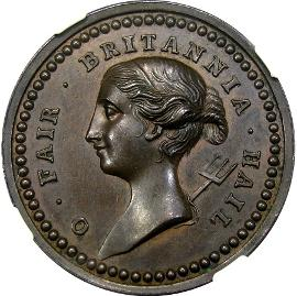 Goree Taken is missing from Betts, despite it's sister medal, Louisburg Taken, being included. Image courtesy DM Rare Coins coin photograpy service.